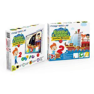 Игровой набор MAGNETICUS Буквы и Цифры (картонная коробка)