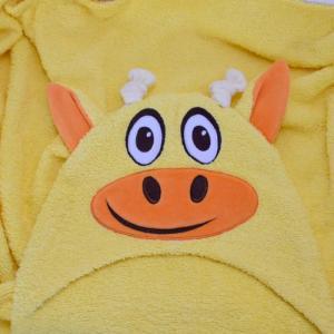 Полотенце с капюшоном Жираф BabyBunny