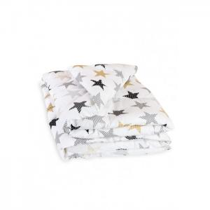 Одеяло  стеганое Холлофайбер 140х110 Сонный гномик