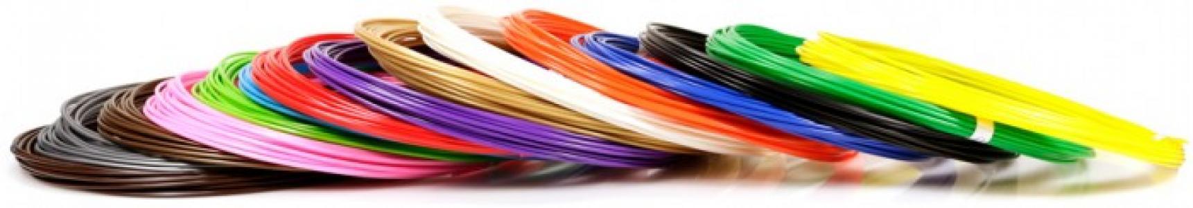 Комплект пластика ABS для 3Д ручек (15 цветов) Unid