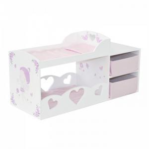 Кроватка для куклы  Двухъярусная с системой хранения Пьемонт Антонелла Paremo