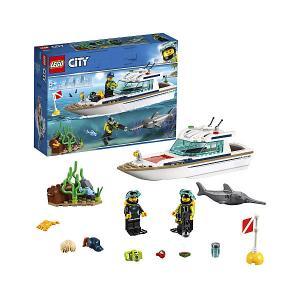 Конструктор  City Great Vehicles 60221: Яхта для дайвинга LEGO