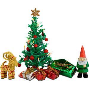 Аксессуары для домика  Рождественский набор Lundby. Цвет: разноцветный
