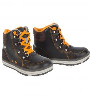 Ботинки  Weather, цвет: коричневый Reima