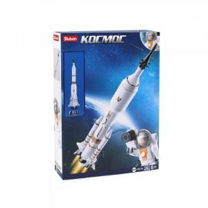 Конструктор  Космос Ракета (167 деталей) Sluban