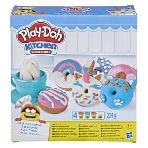 Игровой набор Play-Doh Kithen Creations Выпечка и пончики Hasbro. Цвет: разноцветный