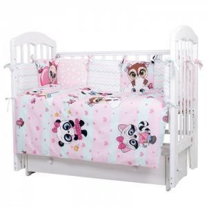 Комплект в кроватку  Мечты Принцессы (6 предметов) Топотушки