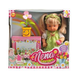Кукла Abtoys Nena набор с цветком,36 см. Цвет: разноцветный