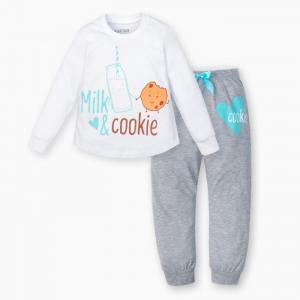 Пижама для девочки (брюки, джемпер) Друзья Kaftan