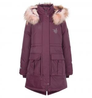 Пальто  Soile, цвет: фиолетовый Nels