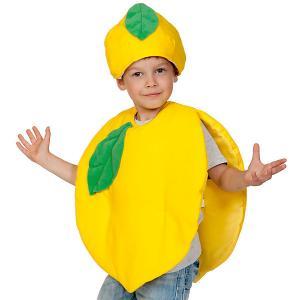 Карнавальный костюм  Лимон,98-128 Карнавалофф. Цвет: разноцветный