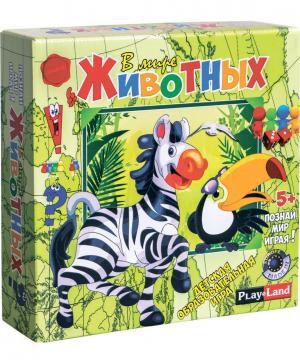 Настольная игра В мире животных Bojeux