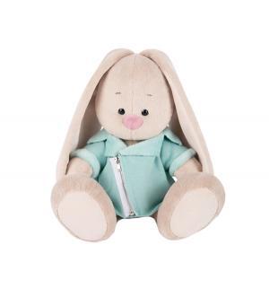 Мягкая игрушка  Зайка Ми в голубой меховой курточке 23 см Budi Basa