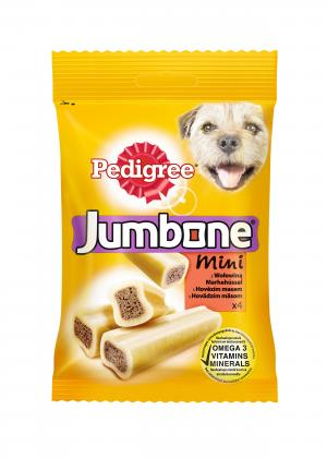 Лакомство  Jumbone для взрослых собак, говядина, 180г Pedigree