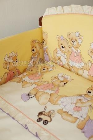 Комплект в кроватку  ожидании праздника (6 предметов) Lappetti