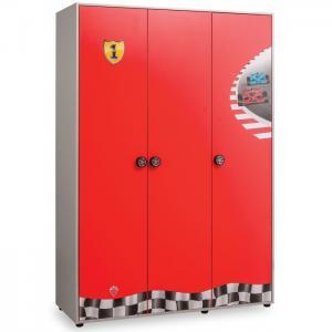 Шкаф  трехстворчатый Racecup Cilek