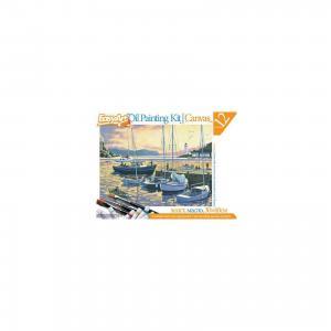 Набор для живописи масляными красками № 5 Вечерняя гавань EasyArt