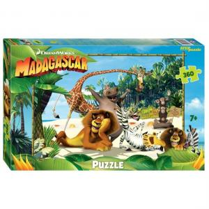 Пазл  Мадагаскар-3 Step Puzzle