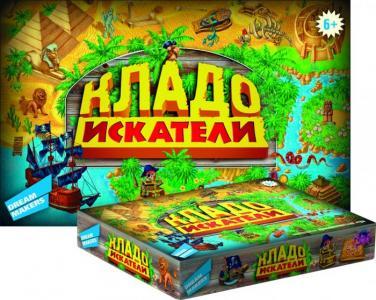 Детская настольная игра Кладоискатели Dream makers