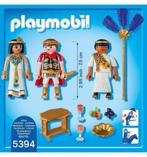 Игровой набор  Римляне и Египтяне Цезарь Клеопатра Playmobil