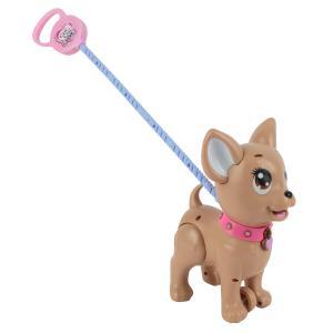 Игрушка  Собачка с поводком для прогулки Chi Love