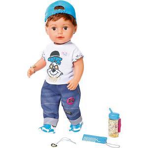 Интерактивная кукла  Baby born Братик, 43 см Zapf Creation