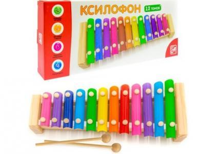 Музыкальный инструмент  Ксилофон (12 тонов) Анданте
