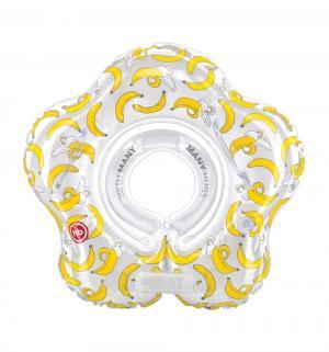 Круг на шею для плавания  Бананы новорожденных Happy Baby