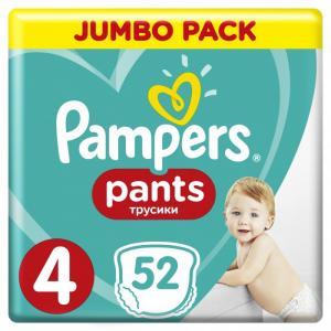 Подгузники-трусики Pants Maxi р.4 (9-15 кг) 52 шт. Pampers