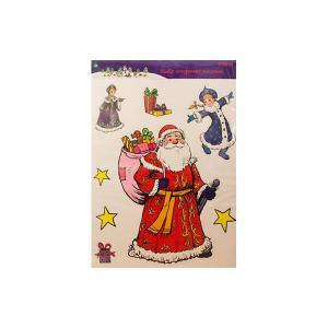 Лист с декоративными новогодними наклейками MAG2000