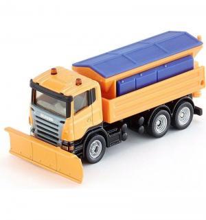 Металлическая модель  Scania - Снегоуборочная машина 11 см Siku