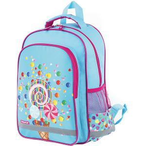 Рюкзак  Сладости, бирюзовый Пифагор. Цвет: бирюзовый