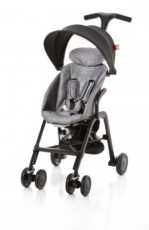 Прогулочная коляска  T-Bar D330J, цвет: printed grey GB