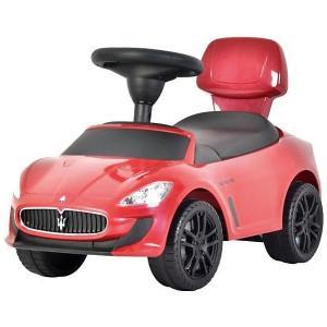 Машина-каталка  Maserati, красная Bugati