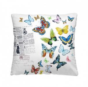Подушка-думка Бабочки 40х40 см Волшебная Ночь