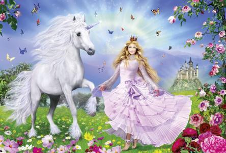 Пазл  Unicorn Princes, 100 эл. Schmidt