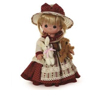 Кукла Старомодная любовь блондинка 30 см Precious
