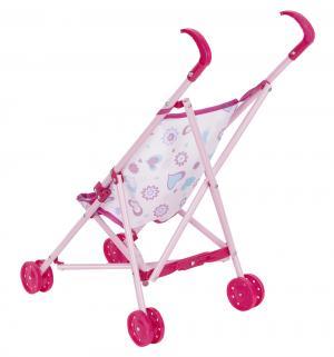 Коляска для кукол  Прогулочная темно-розовая 1Toy