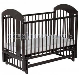 Детская кроватка  Луна маятник поперечный Гном