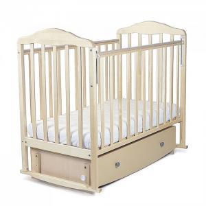 Детская кроватка  Березка маятник продольный с ящиком СКВ Компани