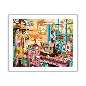 Пазл  Швейная мастерская, 500 элементов Pintoo