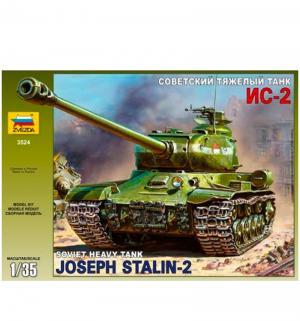 Сборная модель  Танк ИС-2 Звезда
