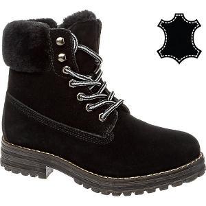 Утепленные ботинки Keddo. Цвет: черный