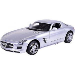 Радиоуправляемая машина  Mercedes-Benz SLS AMG 1:14, серебряная Rastar. Цвет: серебряный