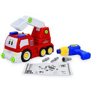 Игровой набор-конструктор  Пожарная машина Bebelot. Цвет: разноцветный