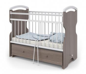 Детская кроватка Атон Elsa маятник поперечный М