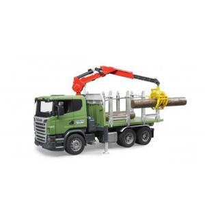 Лесовоз  Scania Bruder