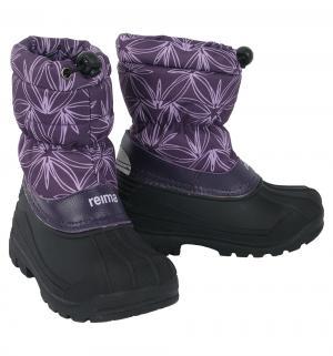 Сноубутсы  Nefar, цвет: фиолетовый Reima