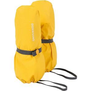 Варежки Didriksons Glove. Цвет: желтый