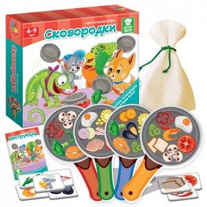 Игра настольная Сковородки Vladi toys